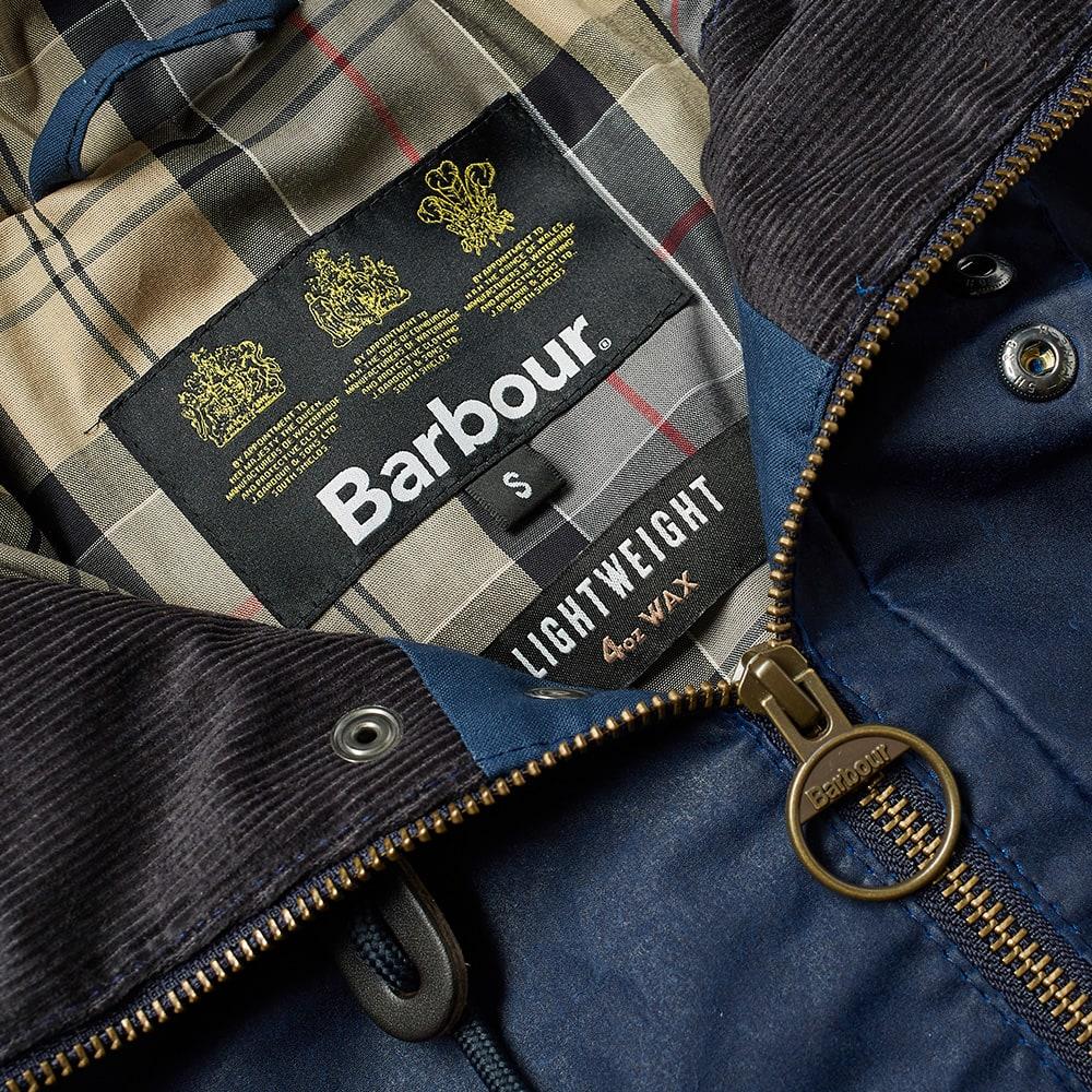 Barbour Lightweight Campbell Wax Jacket - Indigo