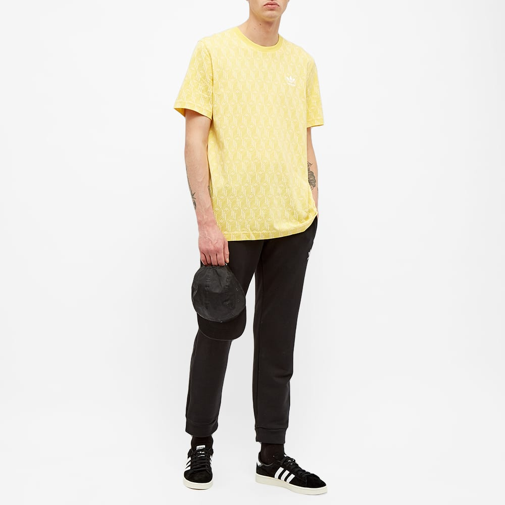 Adidas Monogram Tee - Yellow