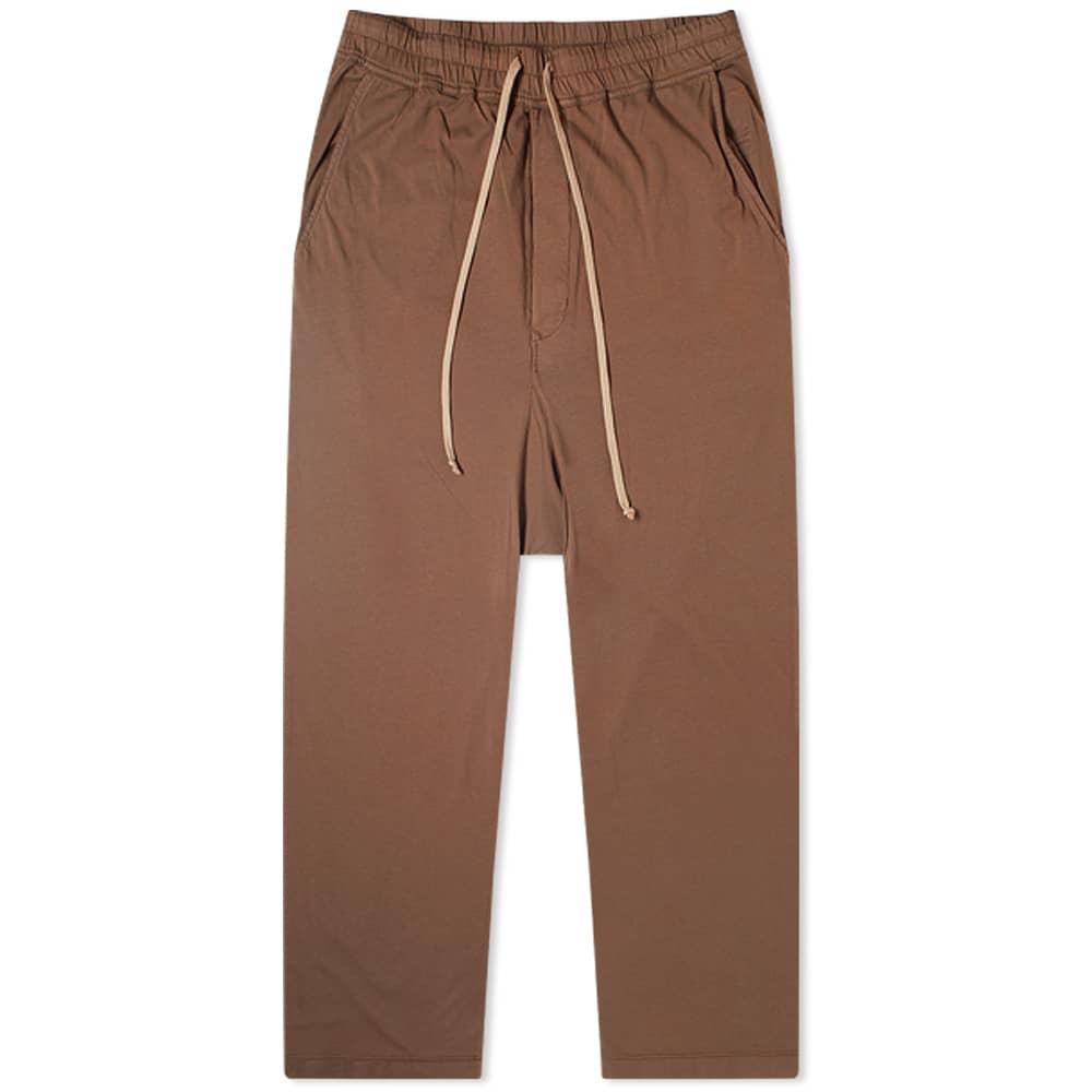 Rick Owens DRKSHDW Drawstring Long Pant - Bark