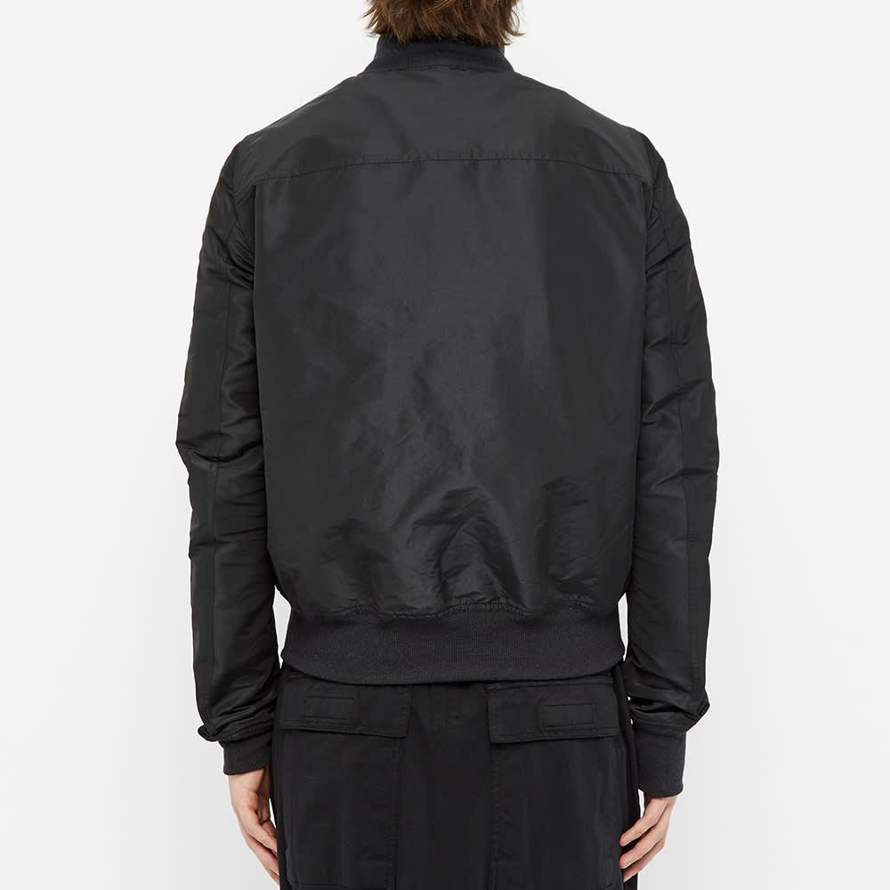 Rick Owens Reversible Flight Jacket - Black & Champagne