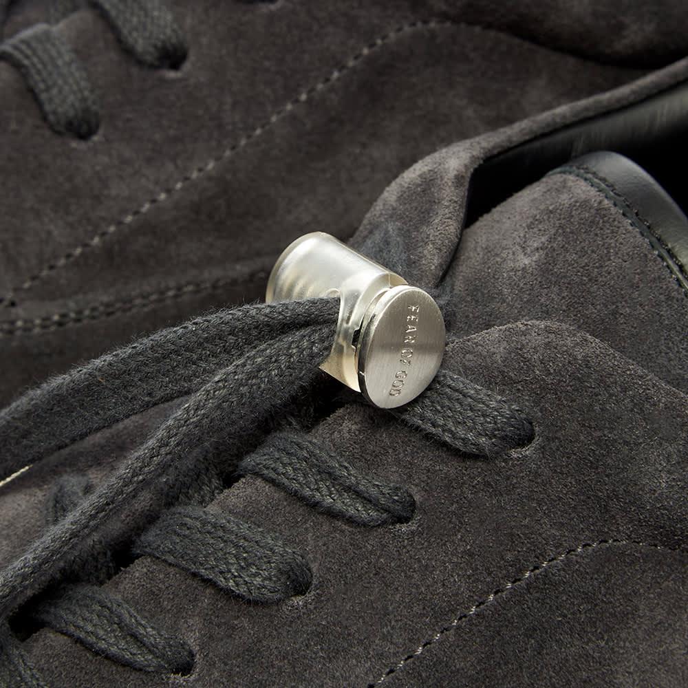 Fear of God 101 Lace Up Sneaker - Vintage Black Suede