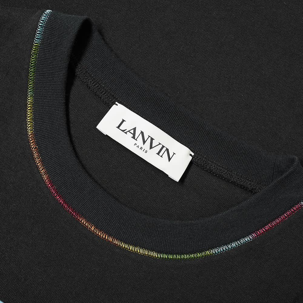 Lanvin Postcard Print Tee - Black