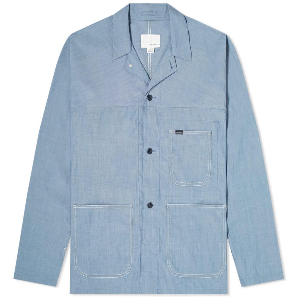 Nanamica Coverall Jacket - Blue