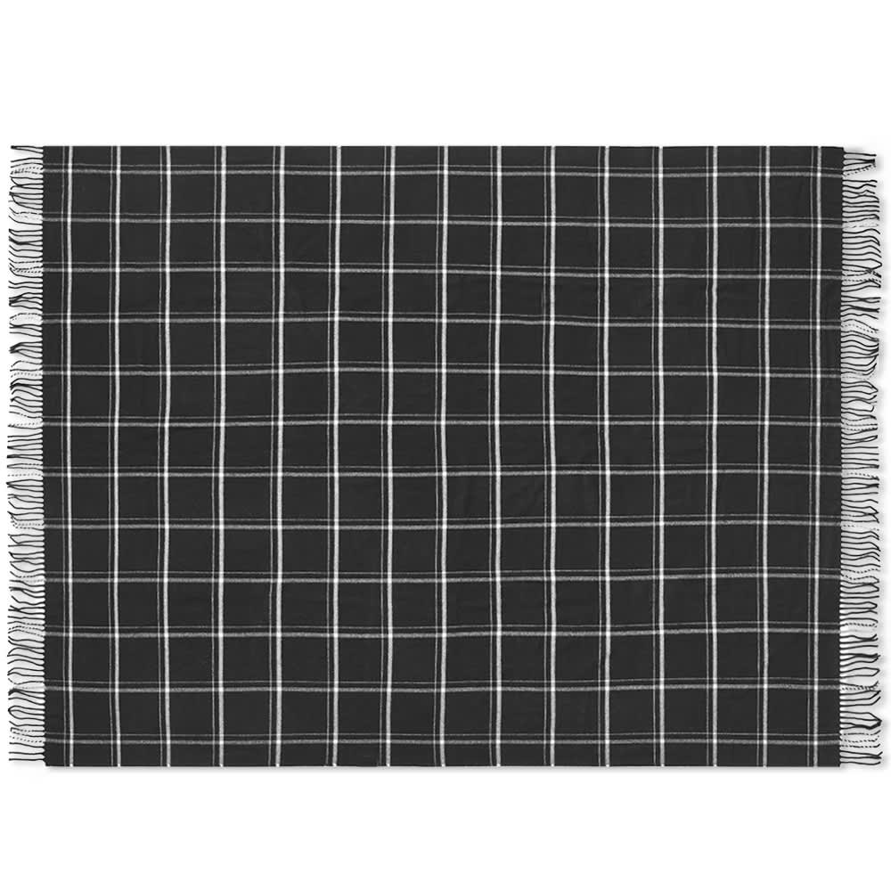 Pendleton 5th Avenue Throw - Black Windowpane