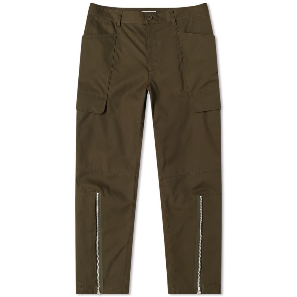 Helmut Lang Cargo Pant - Green