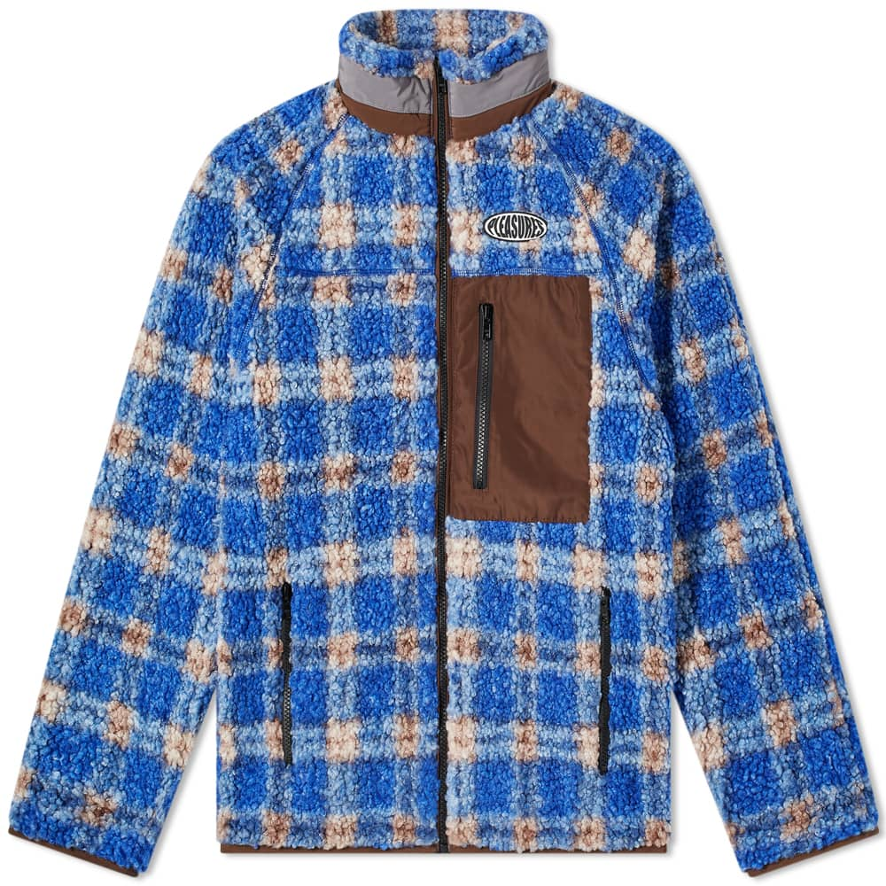 PLEASURES Wraith Poodle Polar Fleece Jacket