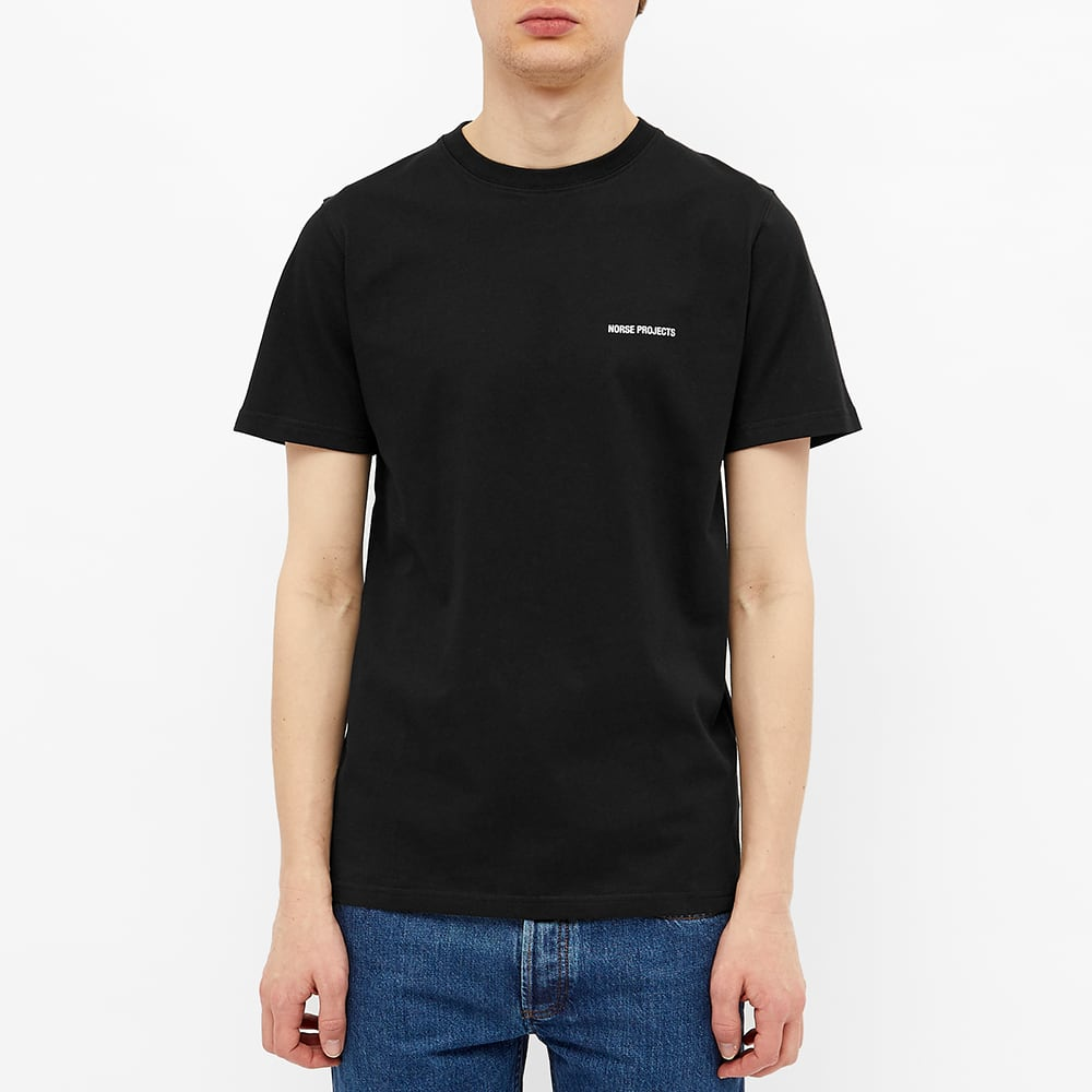 Norse Projects Niels Logo Tee - Black