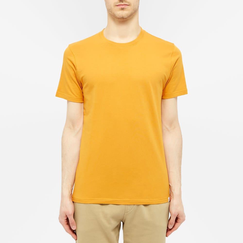 Norse Projects Niels Standard Tee - Cadmium Orange