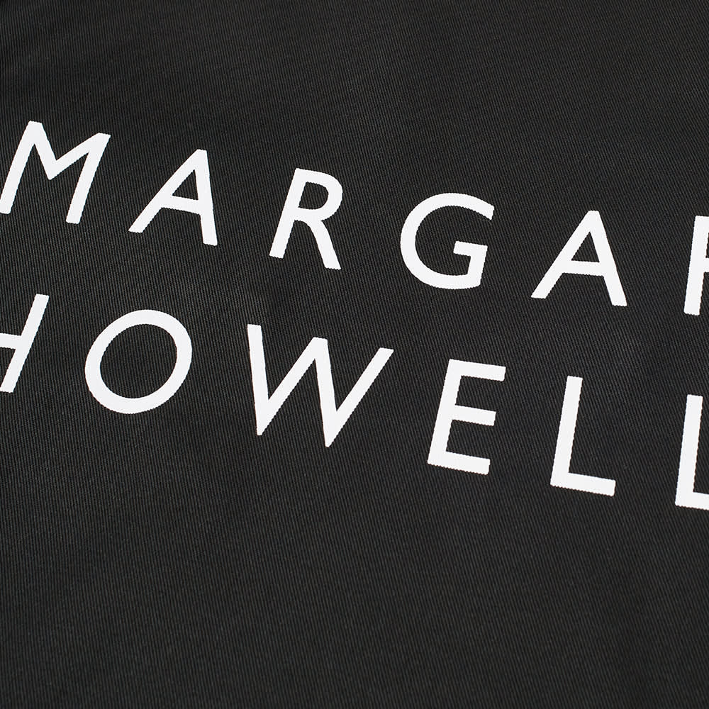 Margaret Howell Logo Tote Bag - Black