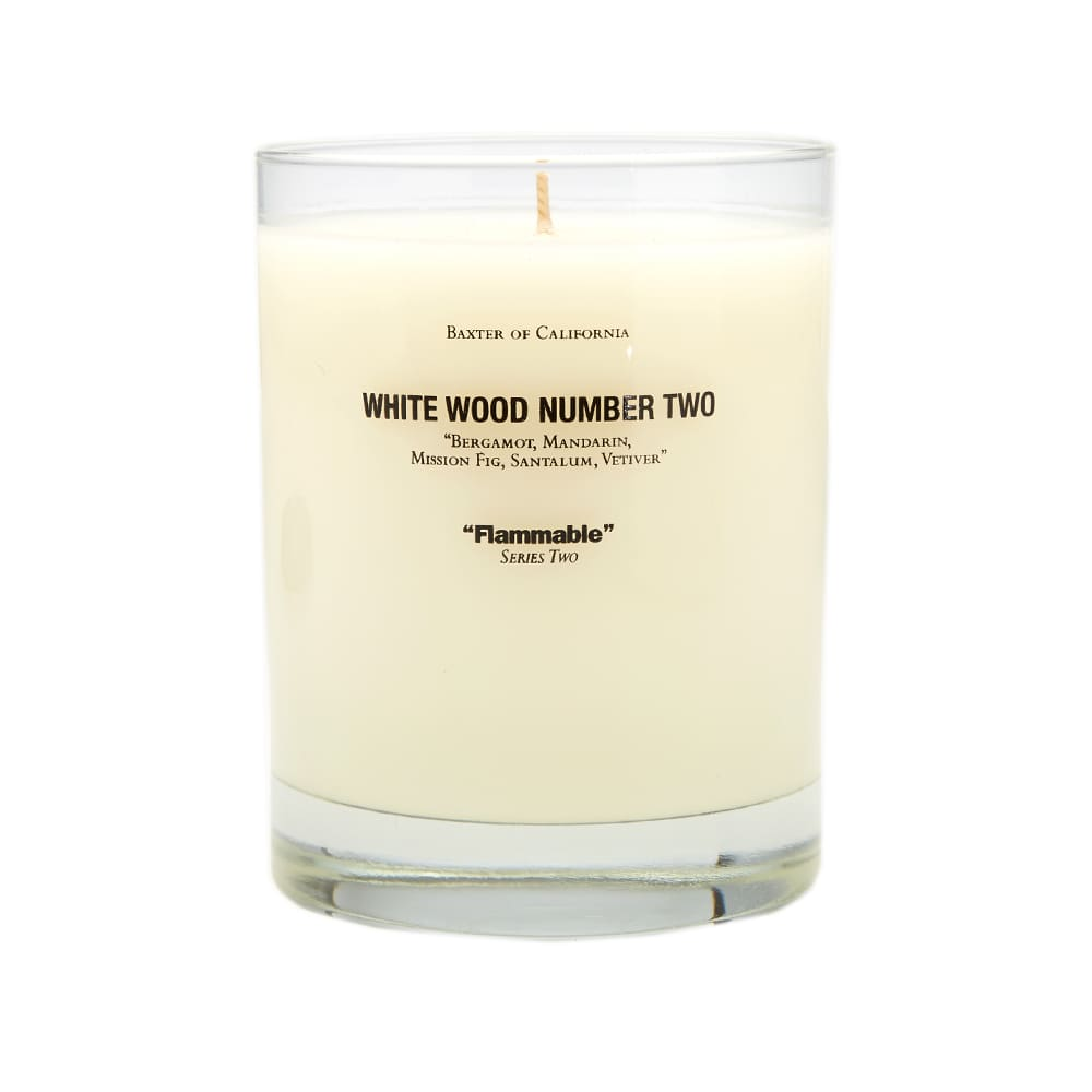 Baxter of California Candle - White Wood No. 2