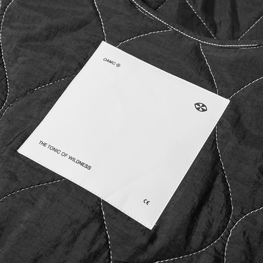 OAMC Quilted Liner Jacket - Black