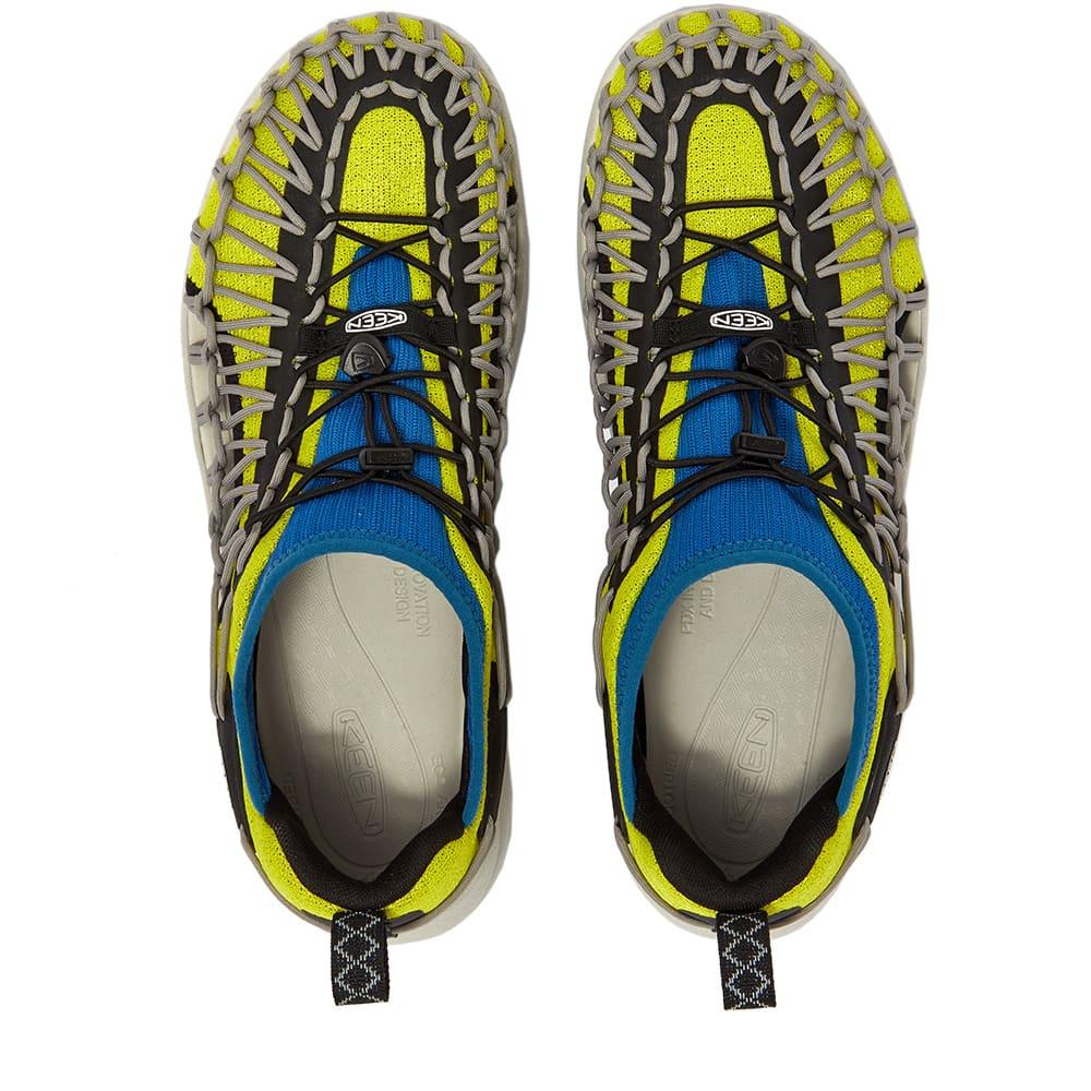 KEEN Uneek Sneaker - Primrose & Mykonos Blue