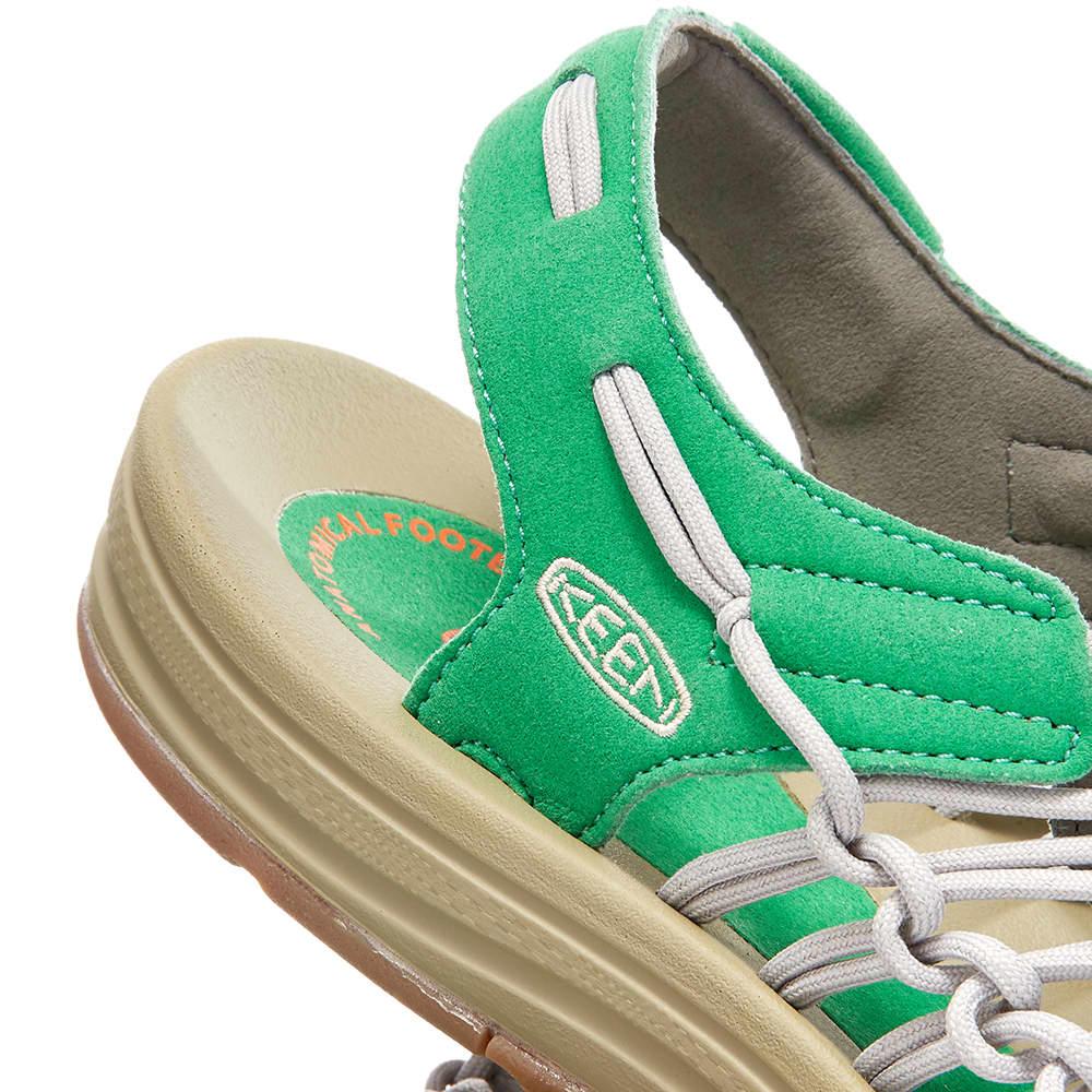 KEEN Uneek OG - Steel Grey & Jolly Green
