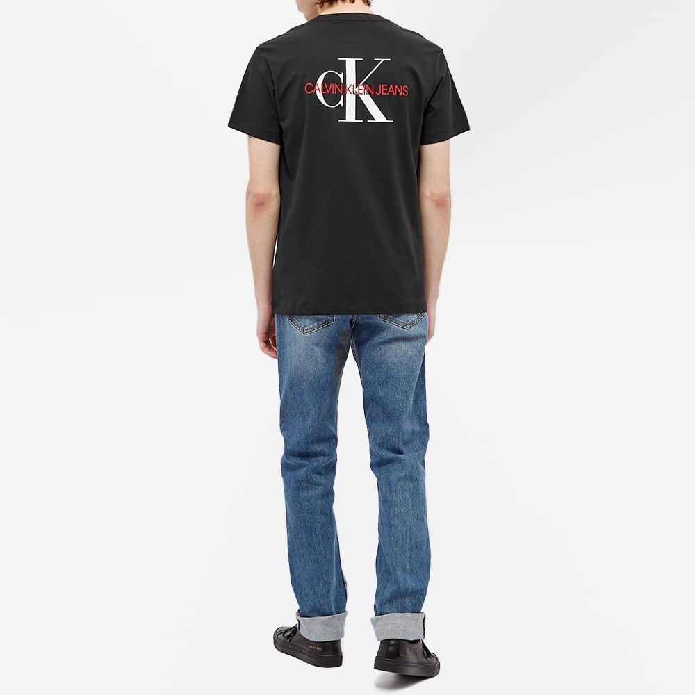 Calvin Klein Back Monogram Tee - Black