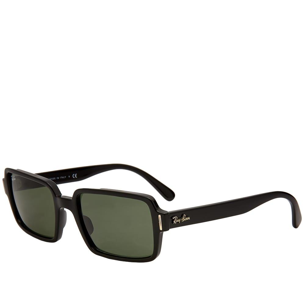 Ray Ban Benji Sunglasses - Black & Green