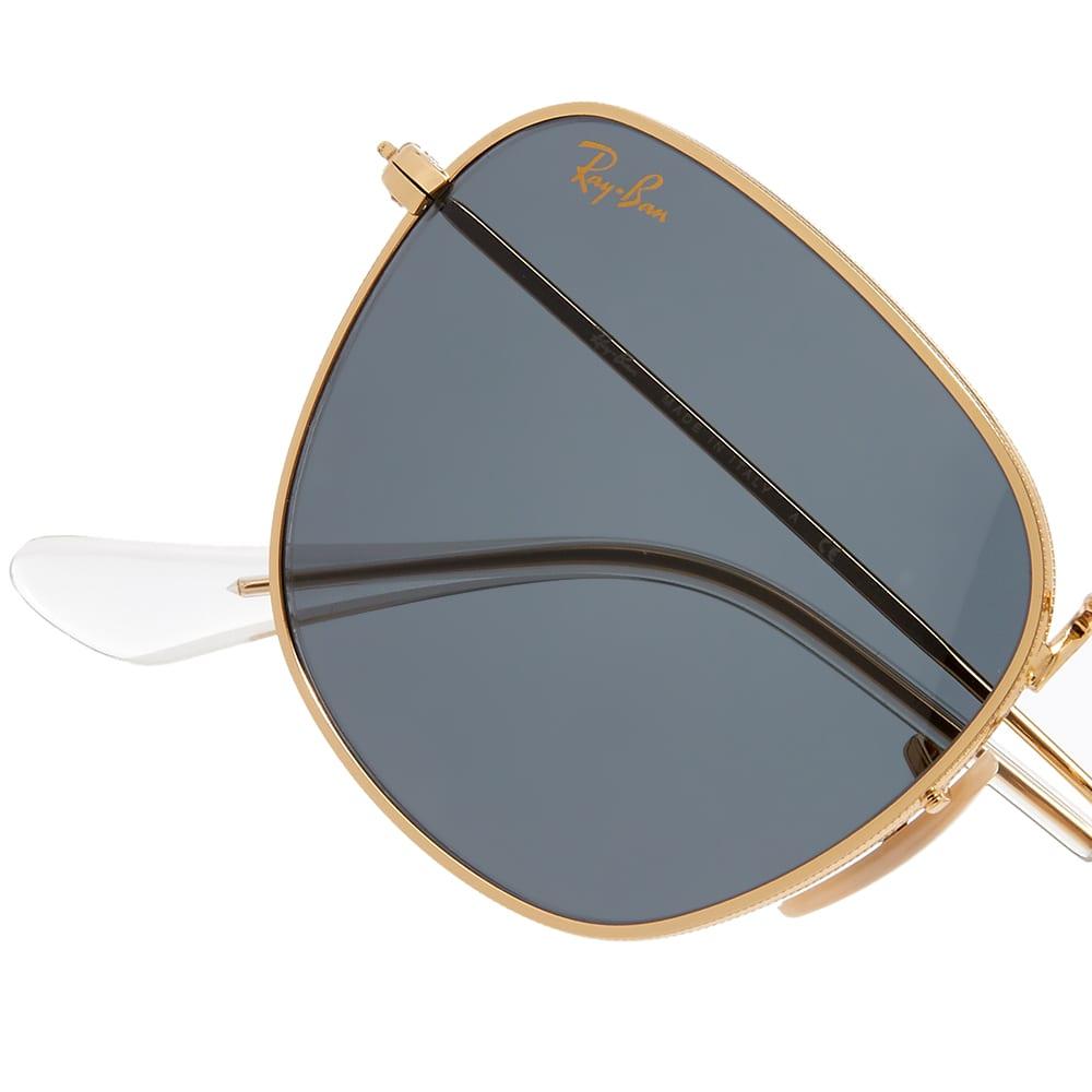 Ray Ban Frank Legend Sunglasses - Gold & Blue