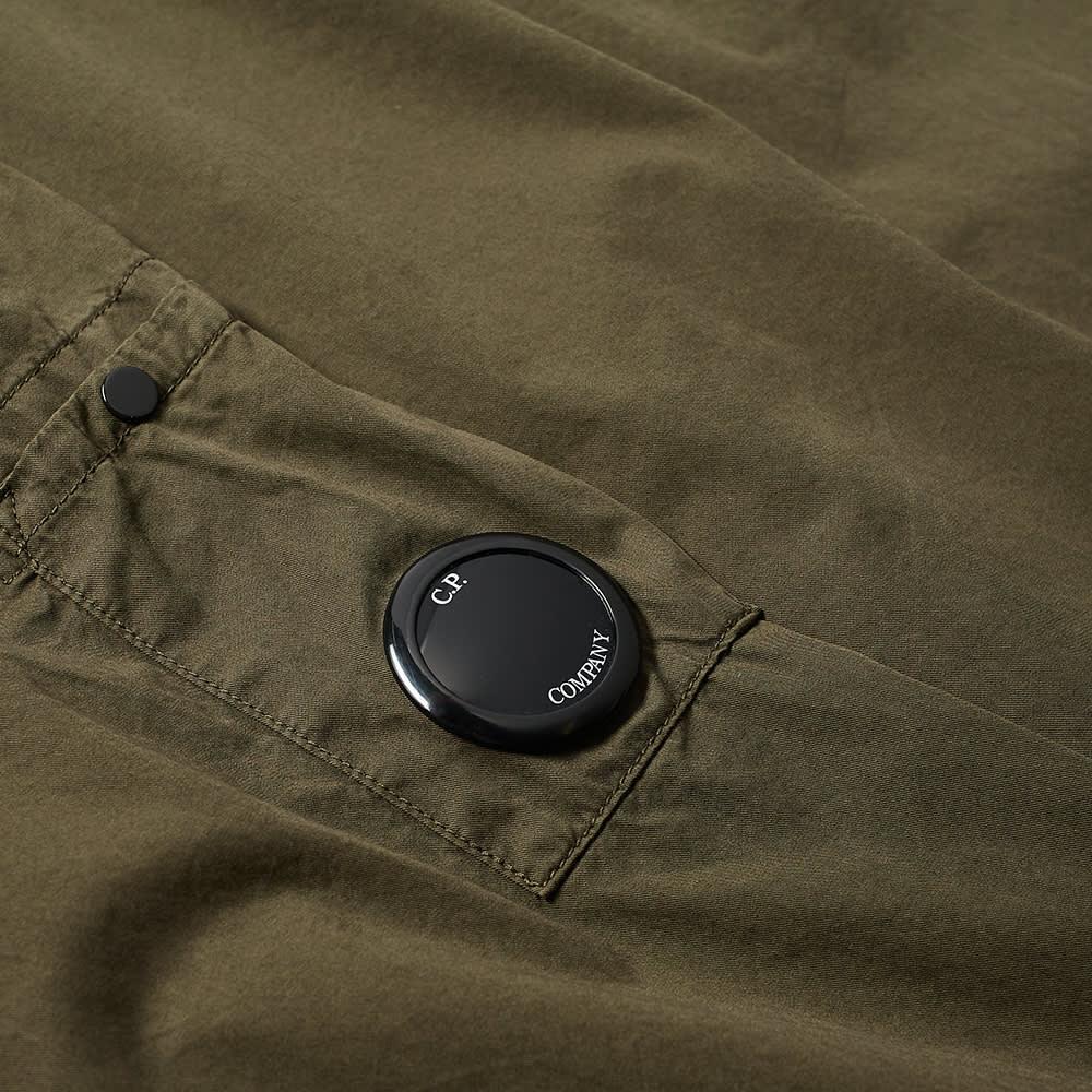 C.P. Company Arm Lens Zip Overshirt - Ivy Green