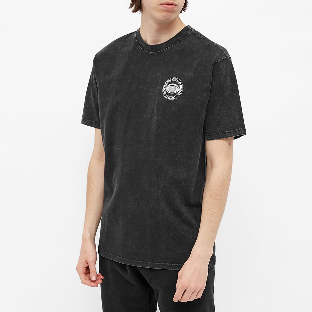 032c Hypnos Acid Washed Tee - Washed Out Black