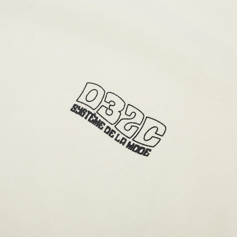 032c Glow In The Dark Crew Sweat - Natural White