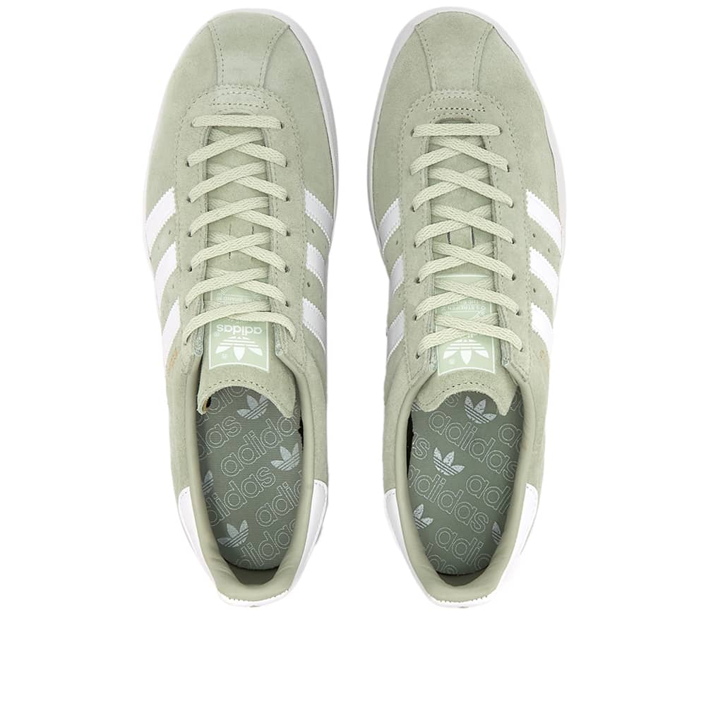 Adidas Broomfield - Linen Green, White & Gold