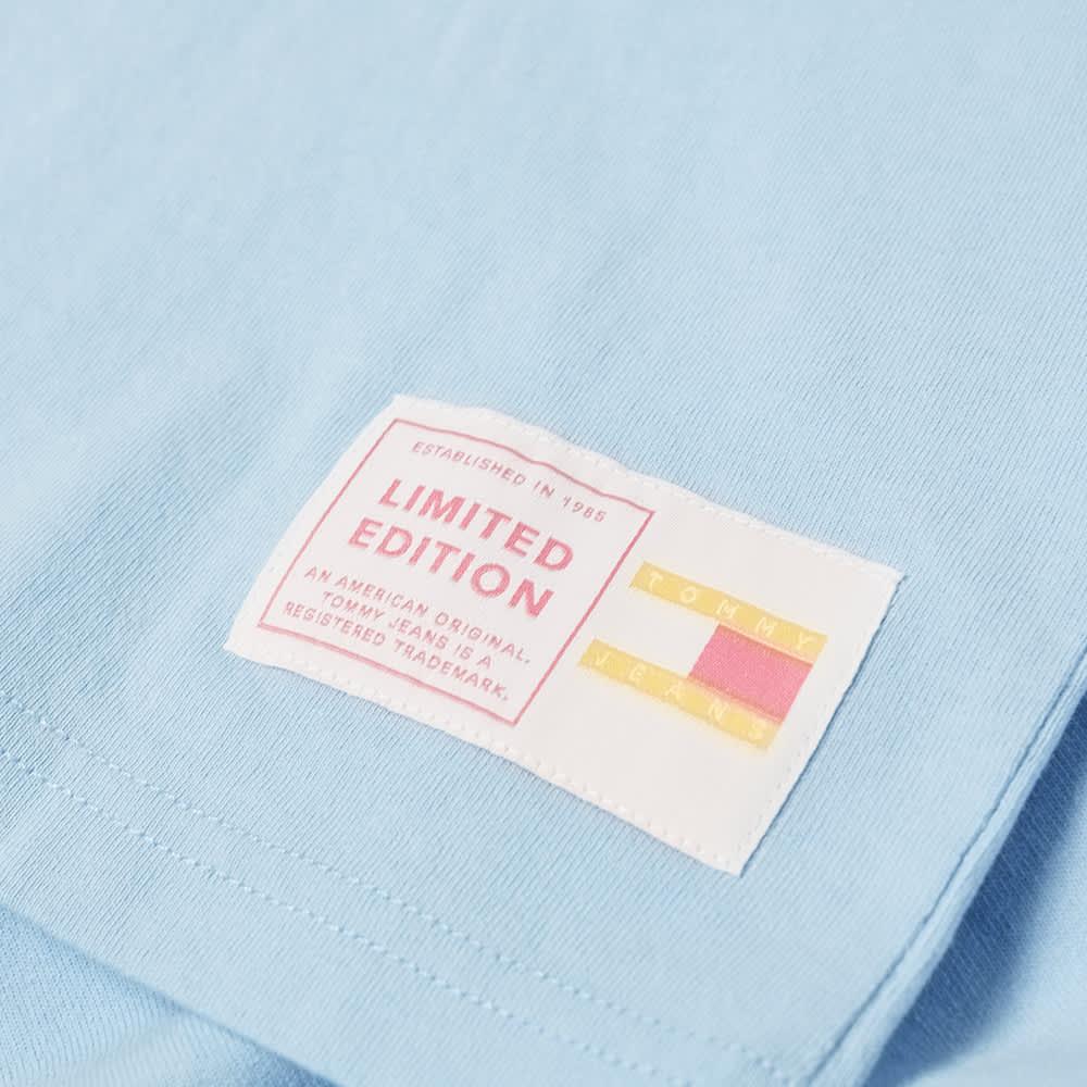 Tommy Jeans TJM Pastel Flag Tee - Light Powdery Blue