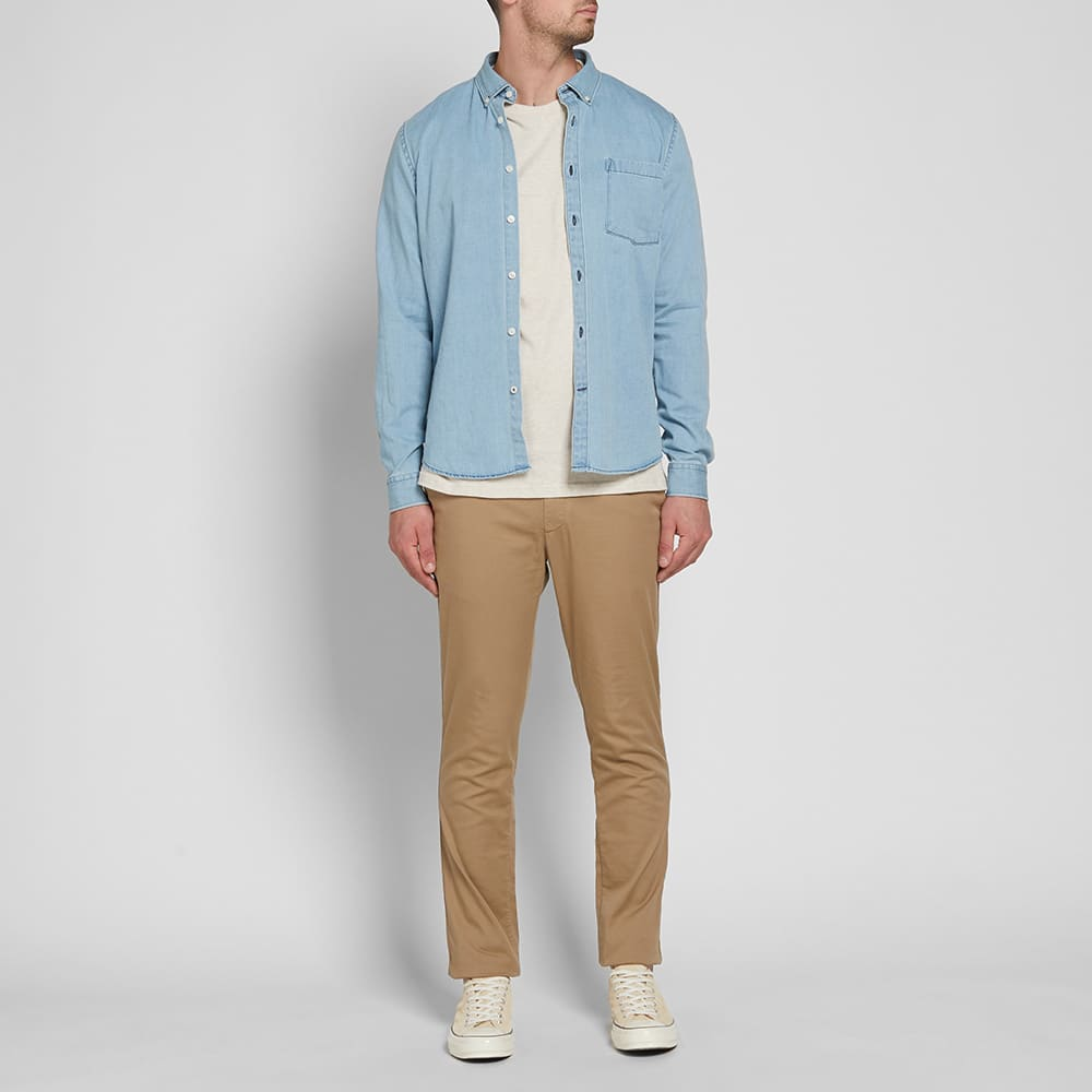 NN07 Falk Denim Shirt - Light Chambray