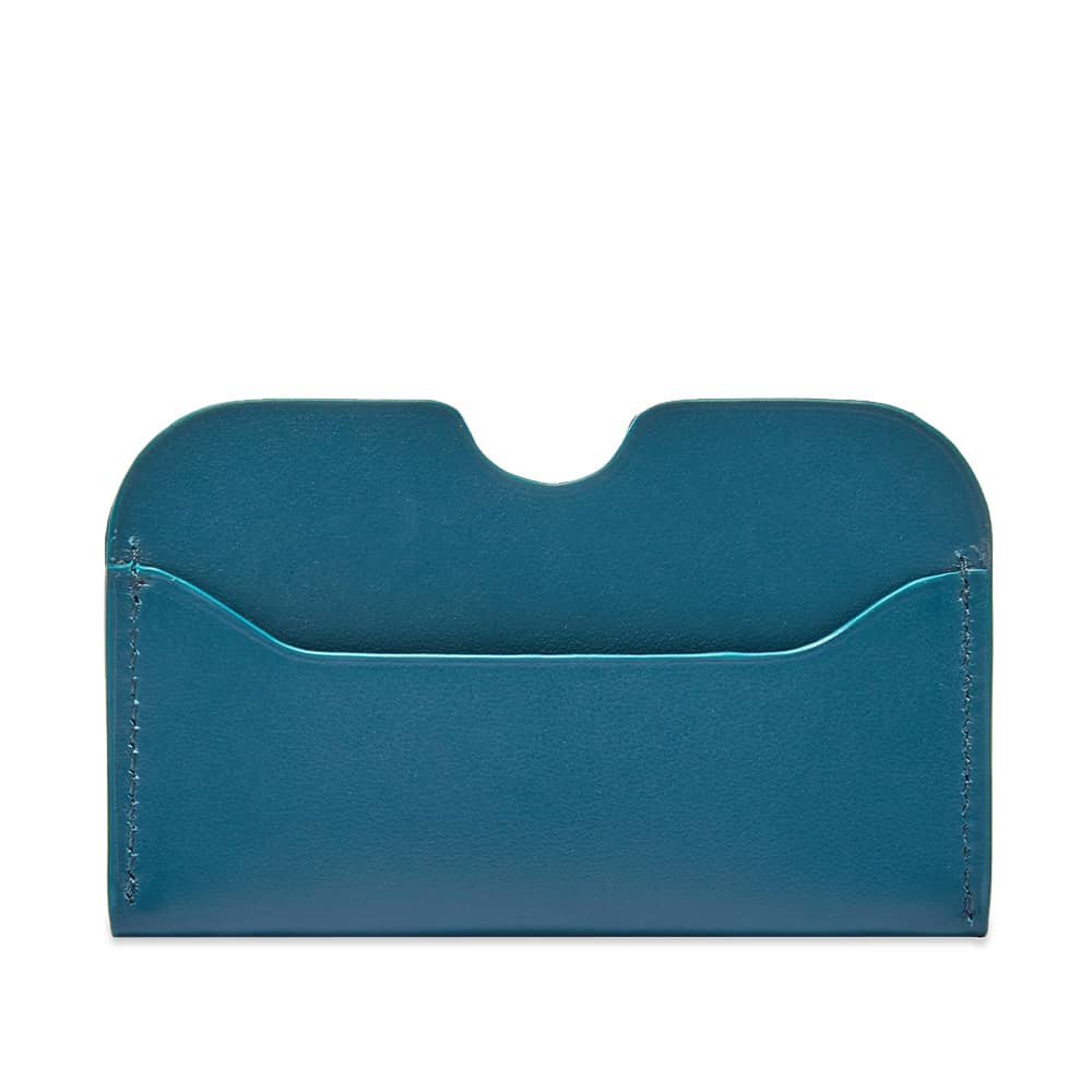 Acne Studios Elmas S Card Holder - Teal Blue