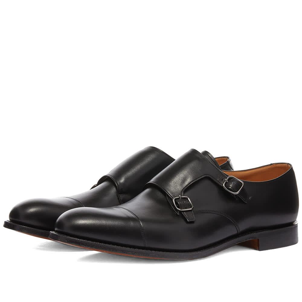 Church's Detroit Double Monk Shoe - Black