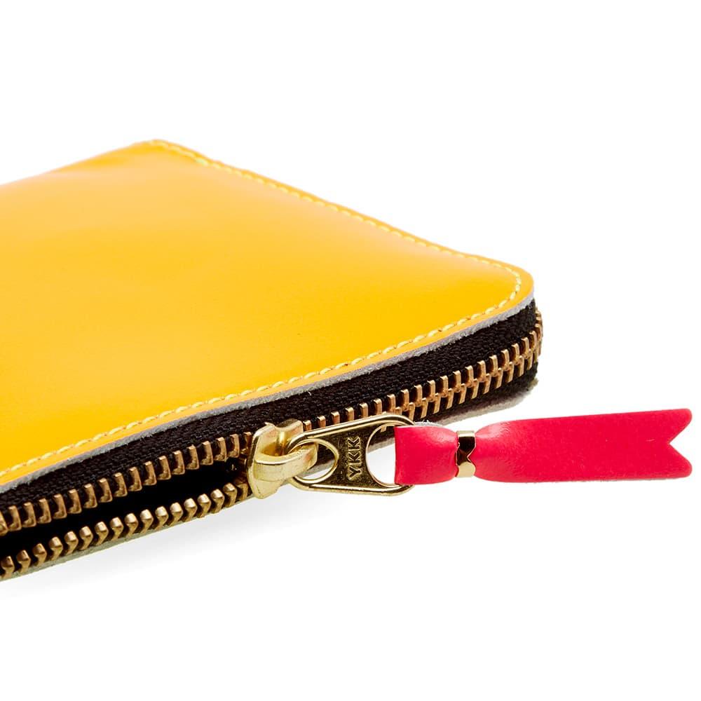 Comme des Garcons SA3100SF Super Fluo Wallet - Yellow & Light Orange
