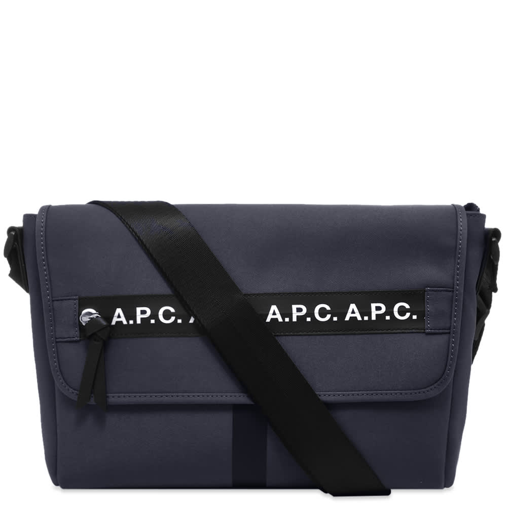 A.P.C. Taped Seam Messenger Bag by A.P.C.