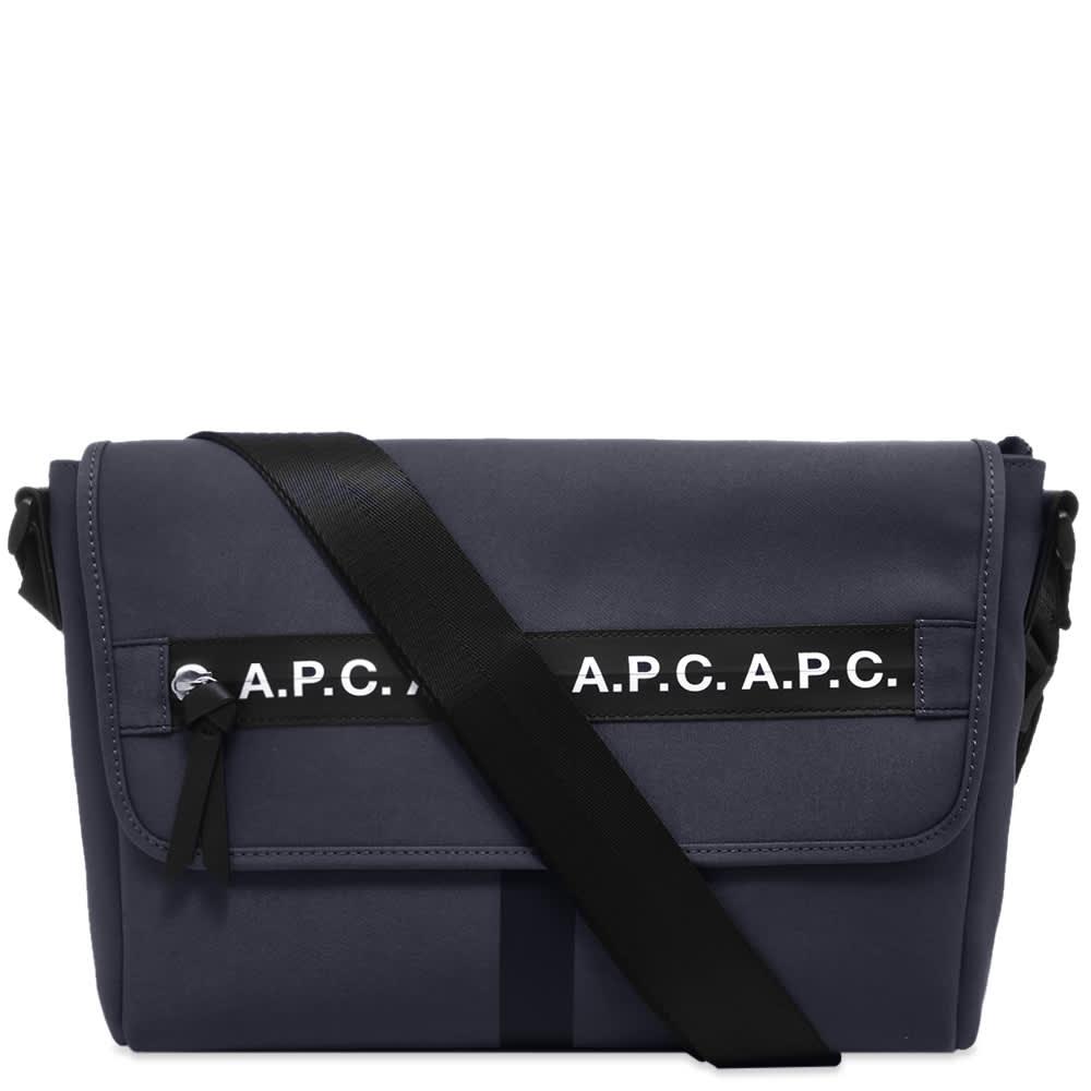 A.P.C. Taped Seam Messenger Bag by A.P.C.