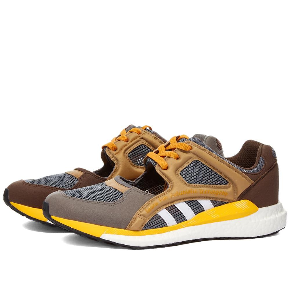 Adidas x Human Made EQT Racing - Brown
