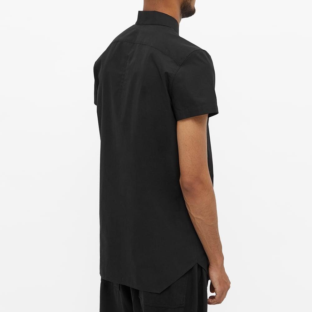 Rick Owens Short Sleeve Vacation Shirt - Black