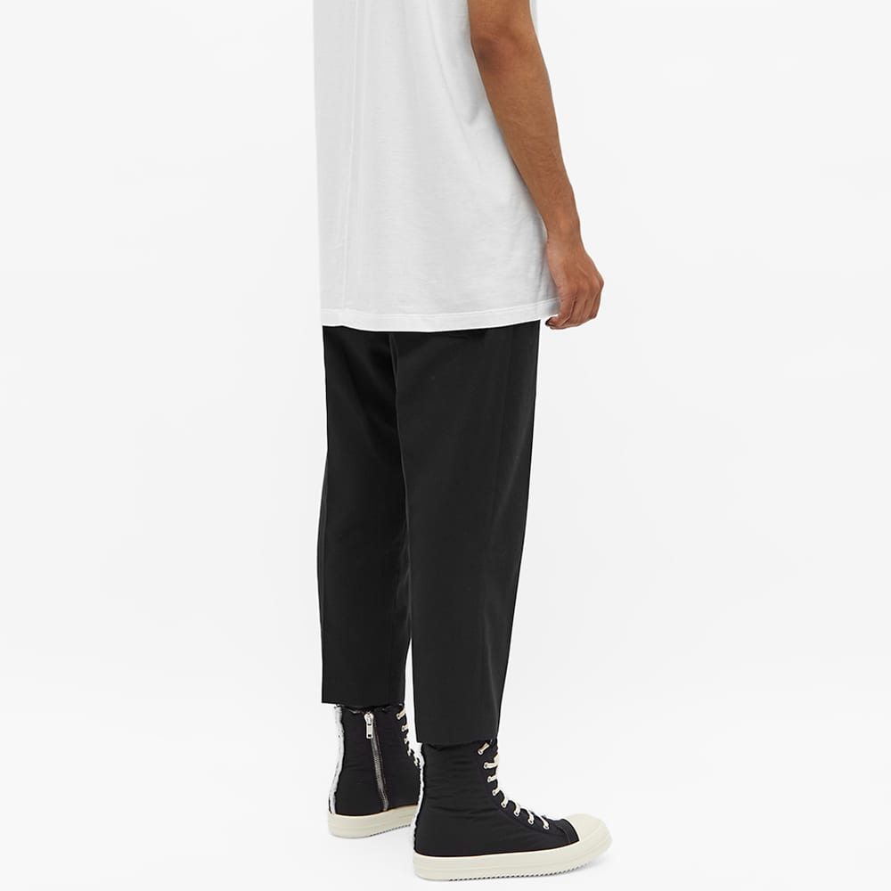 Rick Owens Drawstring Cropped Astaires Pant - Black