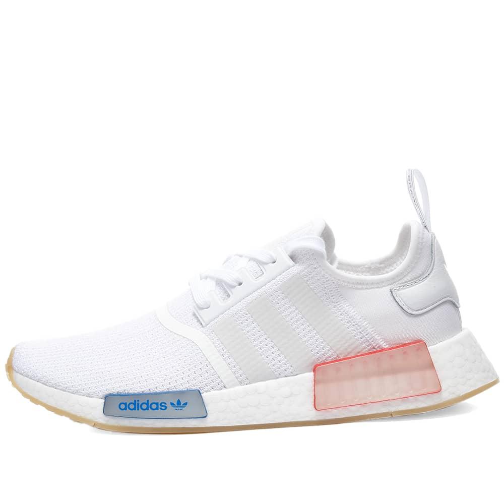 Adidas NMD_R1 - White & Lush Blue