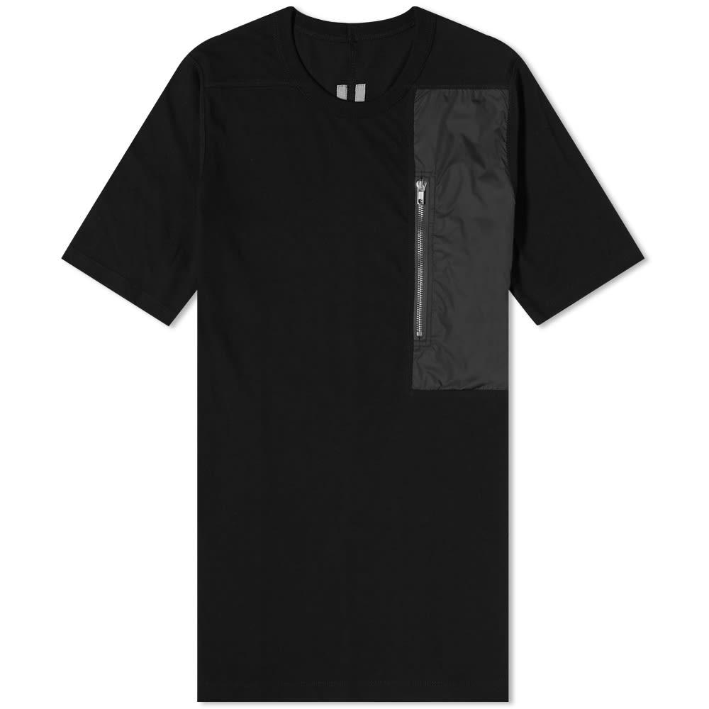 Rick Owens Pocket Level Tee - Black
