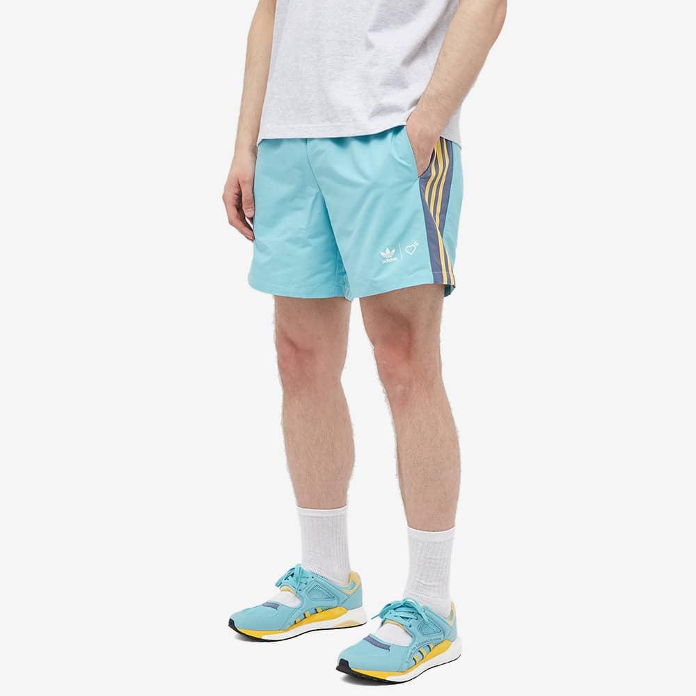 Adidas x Human Made WindShort - Aqua