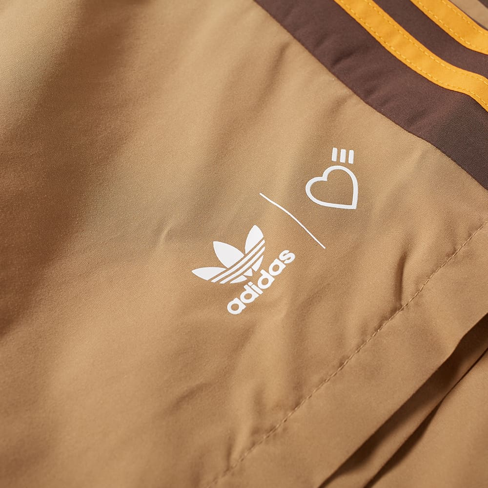 Adidas x Human Made WindShort - Cardboard & Tanger