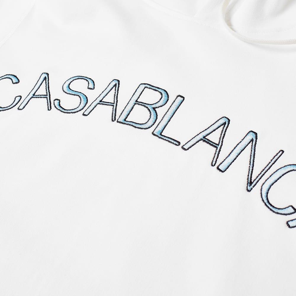 Casablanca Arch Logo Hoody - White