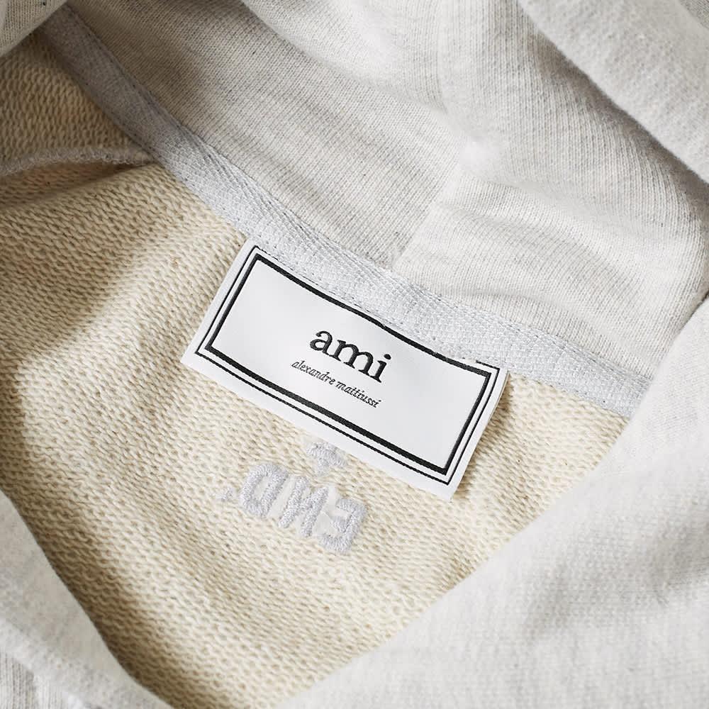 AMI x END. Heart Logo Hoody - Grey