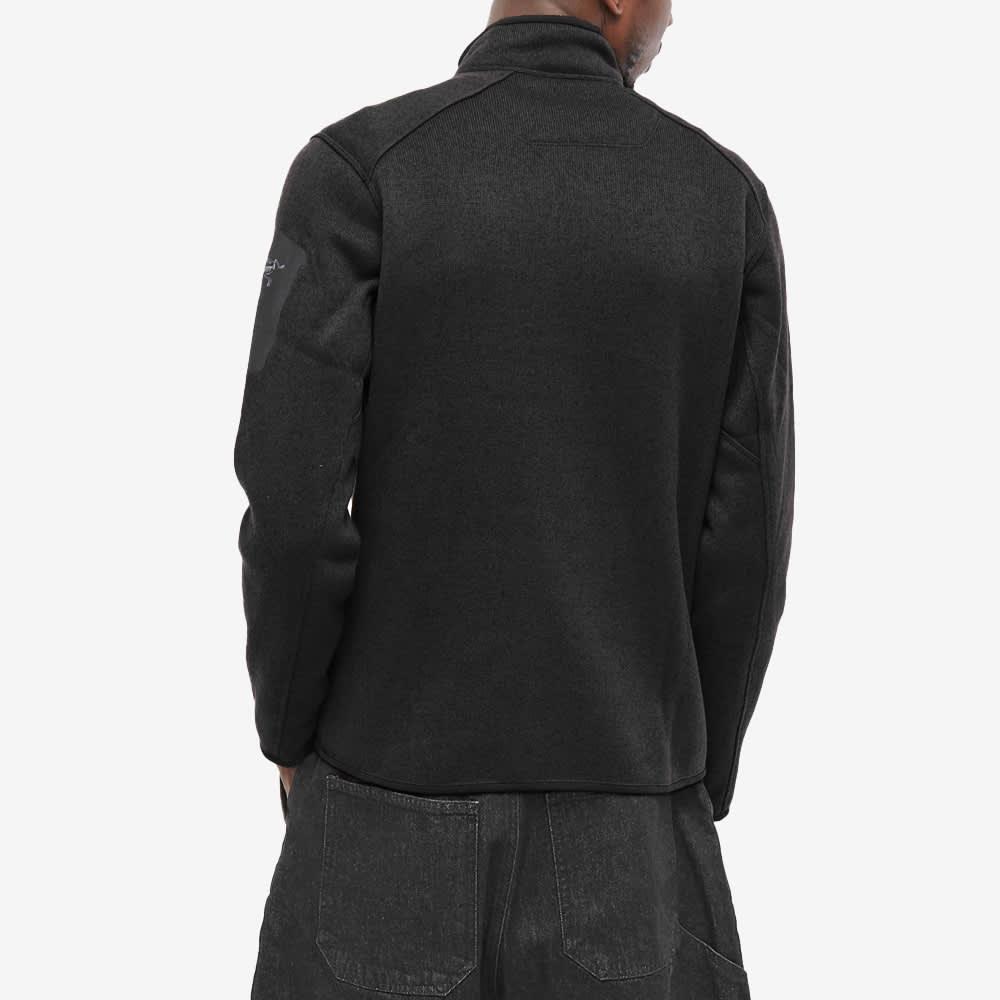 Arc'teryx Covert 1/2 Zip Fleece - Black Heather