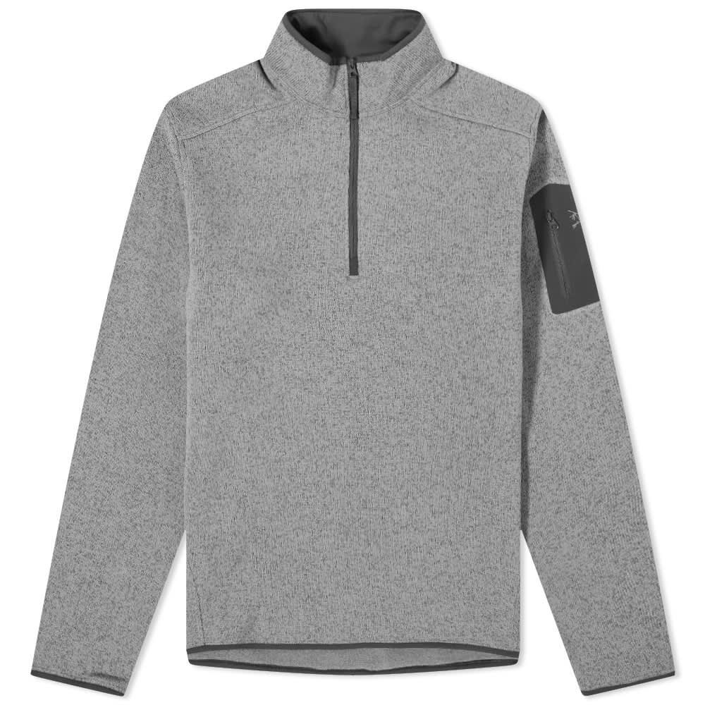 Arc'teryx Covert 1/2 Zip Fleece - Binary Heather