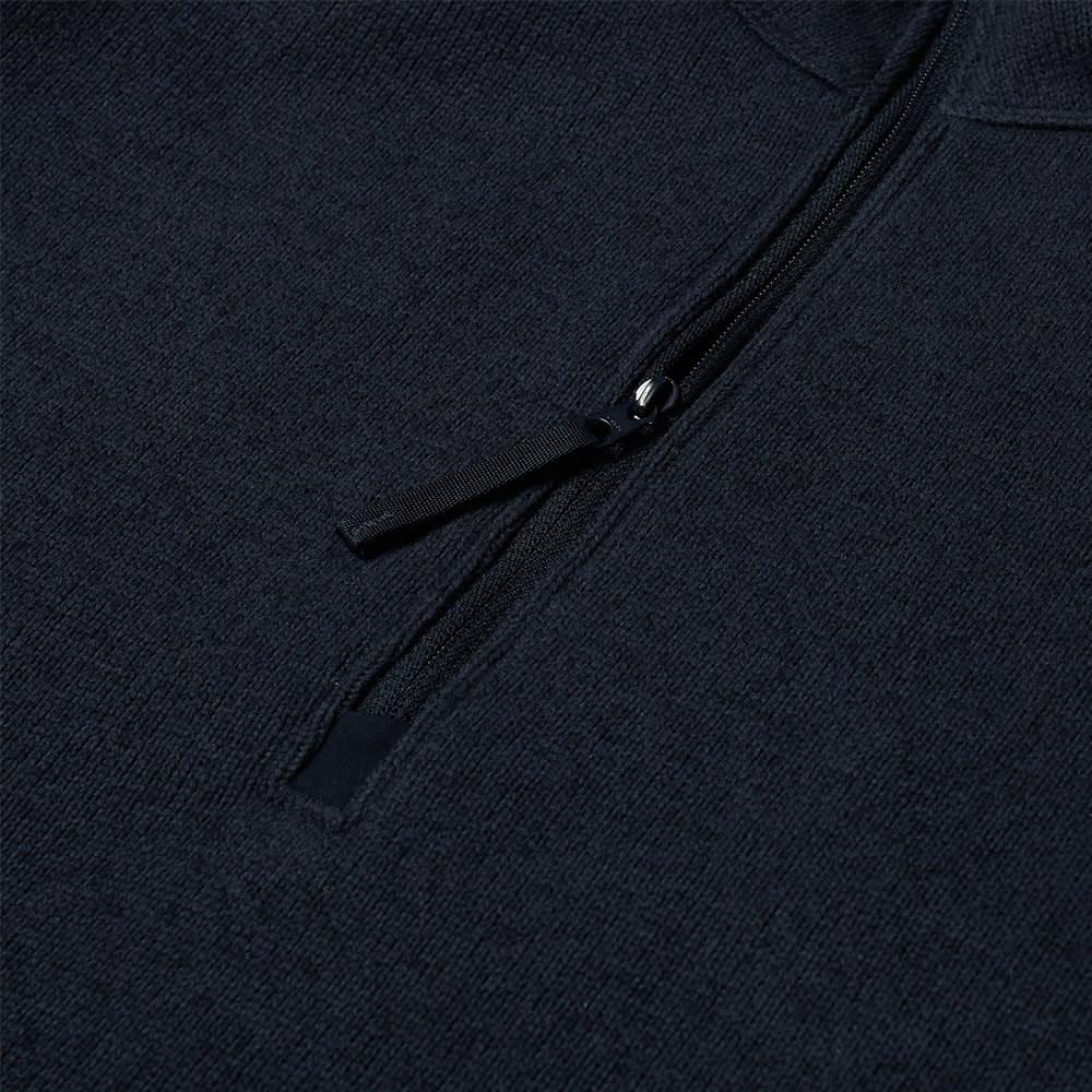 Arc'teryx Covert 1/2 Zip Fleece - Kingfisher Heather