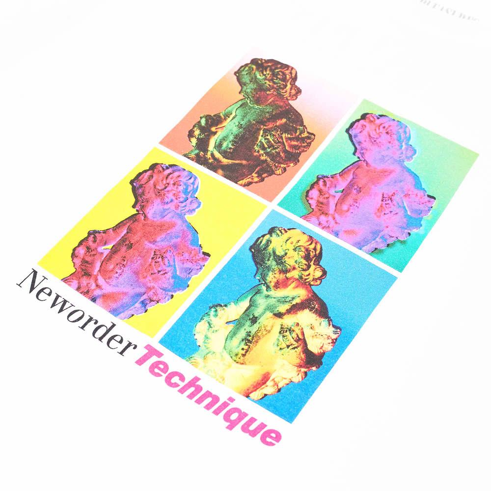 PLEASURES x New Order Technique Tee - White