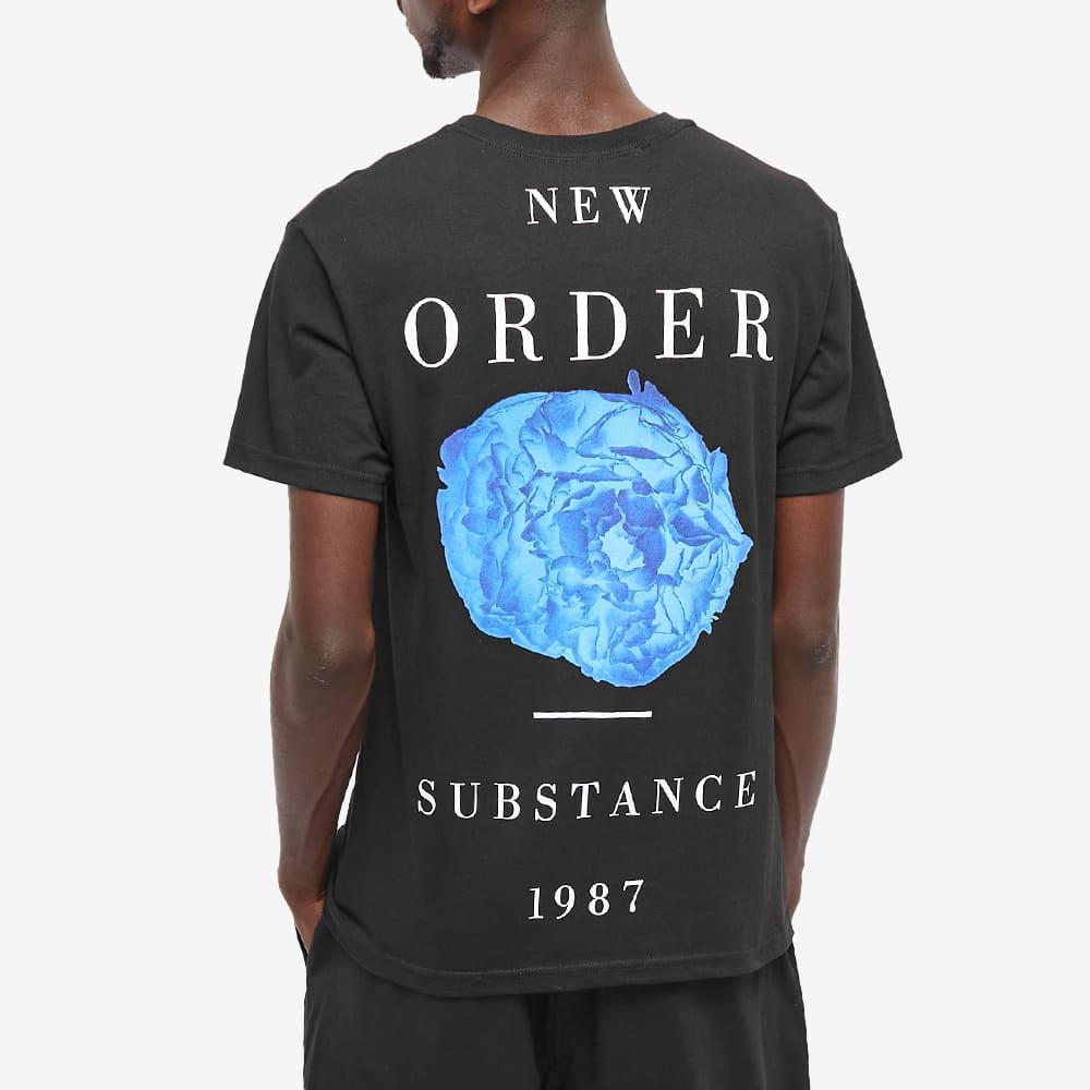 PLEASURES x New Order Substance Tee - Black