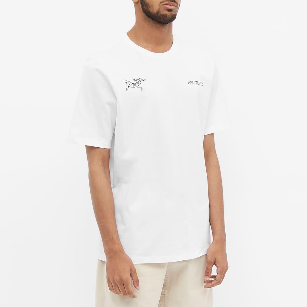 Arc'teryx Split Logo Tee - White