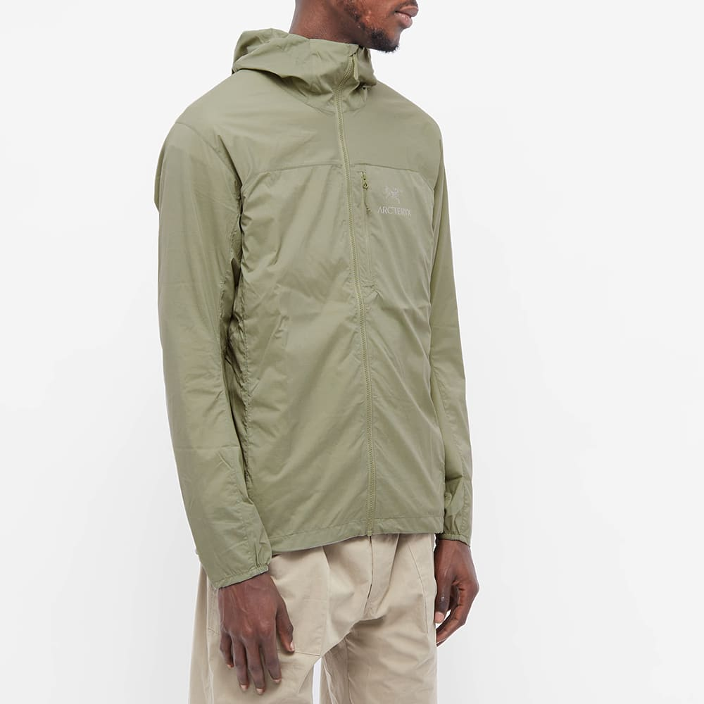 Arc'teryx Squamish Packable Hooded Jacket - Distortion