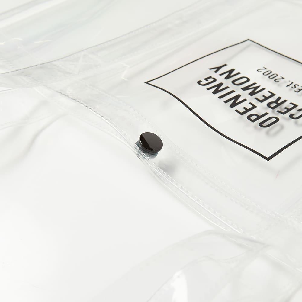 Opening Ceremony Box Logo Shopper Bag - Transparent