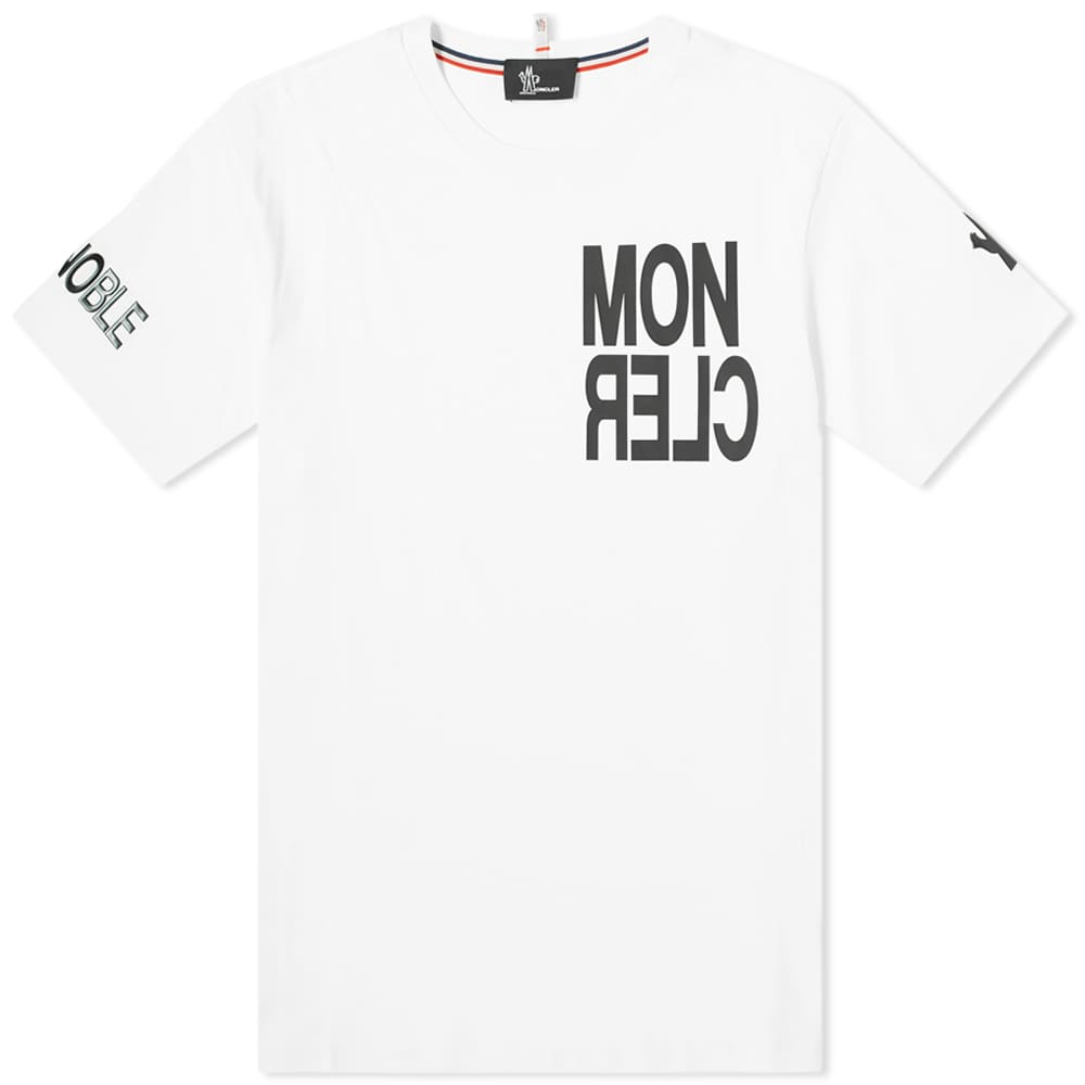 Moncler Grenoble Bold Logo Tee - White