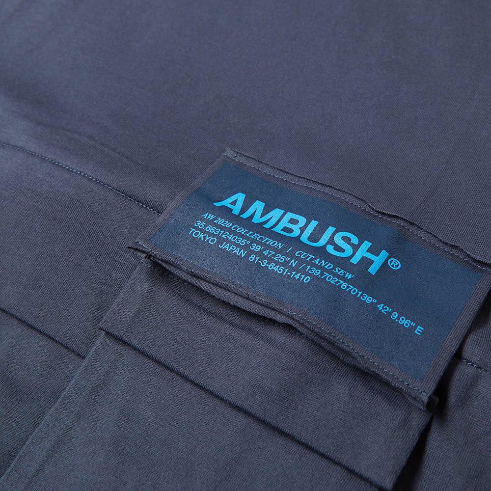 Ambush Convertible Waist Bag Tee - Dark Blue